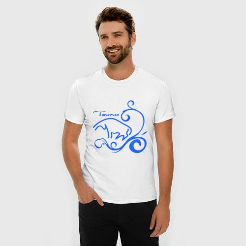 Мужская футболка премиум  Фото 03, Телец (1)