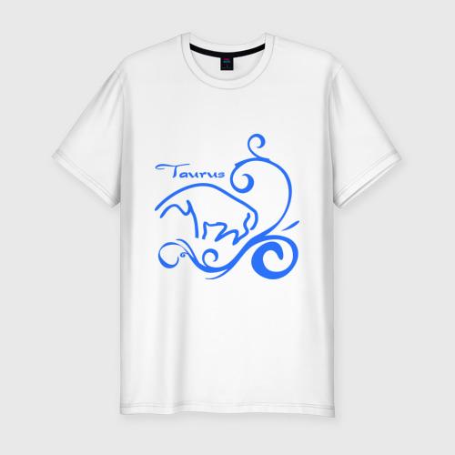Мужская футболка премиум  Фото 01, Телец (1)