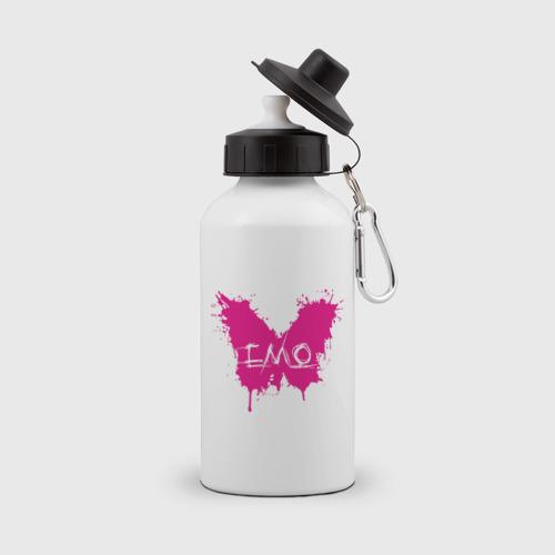 Бутылка спортивная Бабочка-эмо