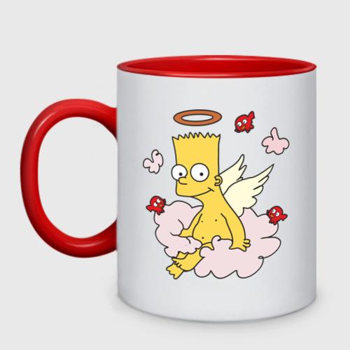 Кружка двухцветная  Фото 01, Барт-ангел