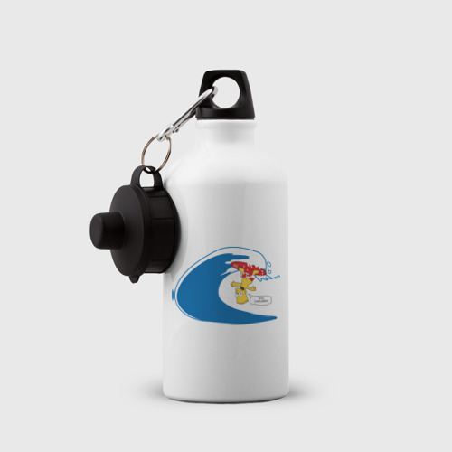 Бутылка спортивная  Фото 03, Барт на сёрфе