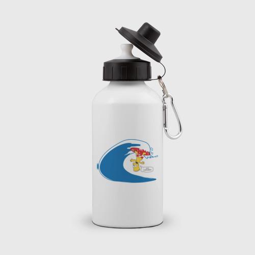 Бутылка спортивная  Фото 01, Барт на сёрфе