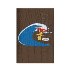 Барт на сёрфе
