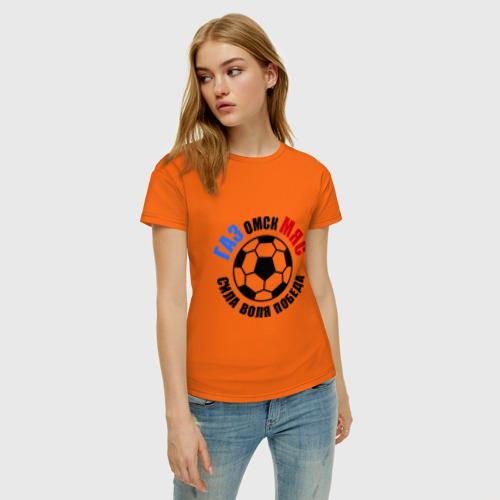 Женская футболка хлопок ГазМяс Фото 01
