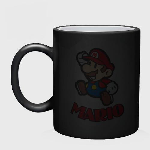 Кружка хамелеон  Фото 02, Марио