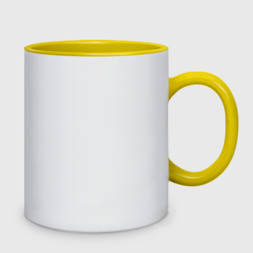 Кружка двухцветная  Фото 02, Симпсоны