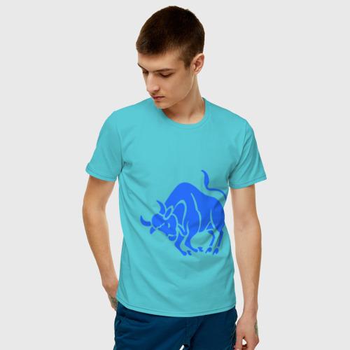Мужская футболка хлопок Телец (3) Фото 01