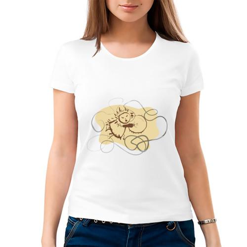 Женская футболка хлопок  Фото 03, Шаман