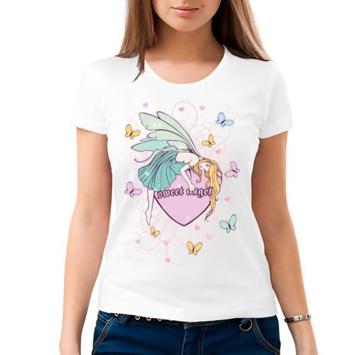 Женская футболка хлопок  Фото 03, Sweet angel
