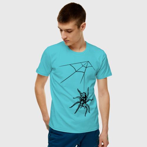 Мужская футболка хлопок Паук (2) Фото 01