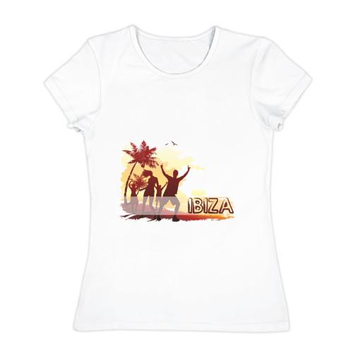 Женская футболка хлопок Ibiza (5)