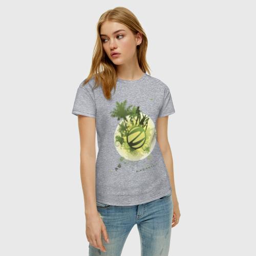 Женская футболка хлопок Казантип (2) Фото 01