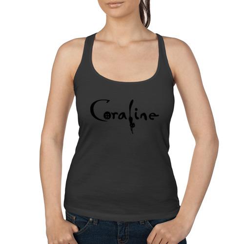Женская майка борцовка  Фото 01, Coraline