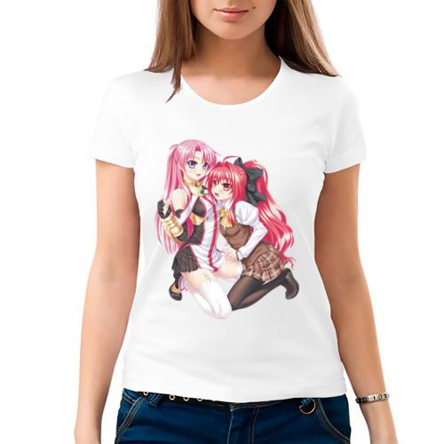Женская футболка хлопок  Фото 03, Girl's