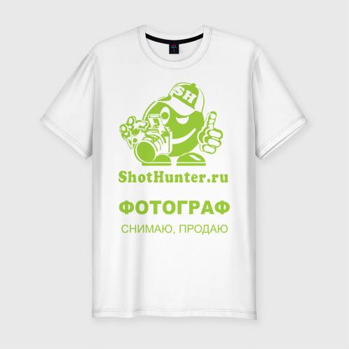 Мужская футболка премиум  Фото 01, ShotHunter(4)