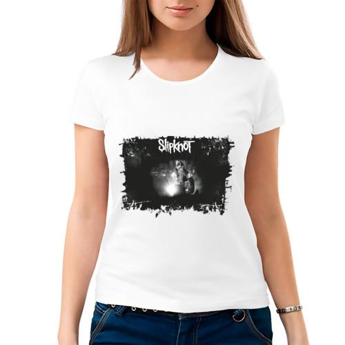 Женская футболка хлопок  Фото 03, Slipknot (2)