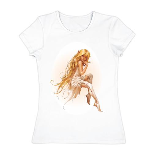 Женская футболка хлопок  Фото 01, Elf (3)