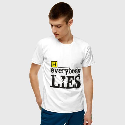 Мужская футболка хлопок Хаус Фото 01