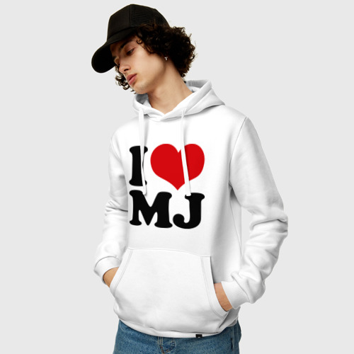 Мужская толстовка хлопок  Фото 03, I LOVE MJ