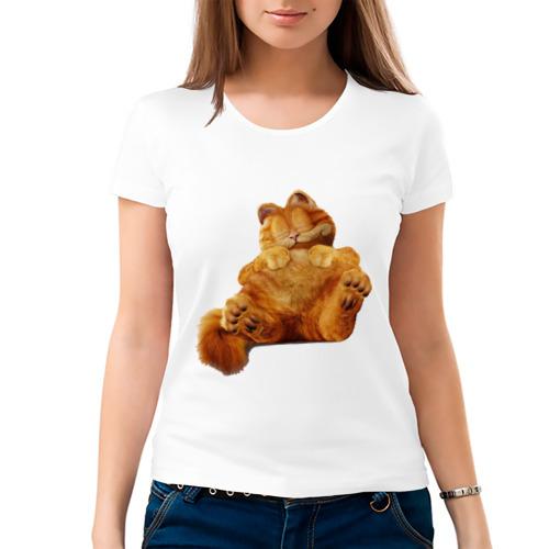 Женская футболка хлопок  Фото 03, Кот Гарфилд