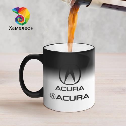 Кружка хамелеон  Фото 05, Acura