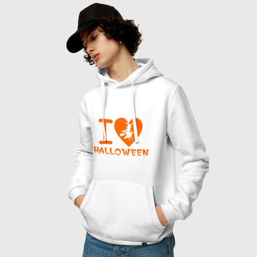 Мужская толстовка хлопок  Фото 03, I Love Halloween
