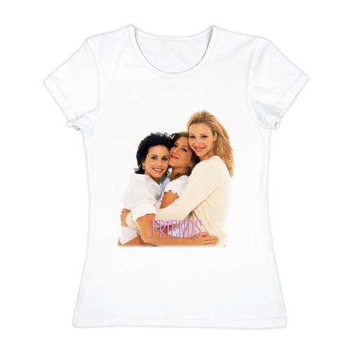 Женская футболка хлопок  Фото 01, Друзья (2)