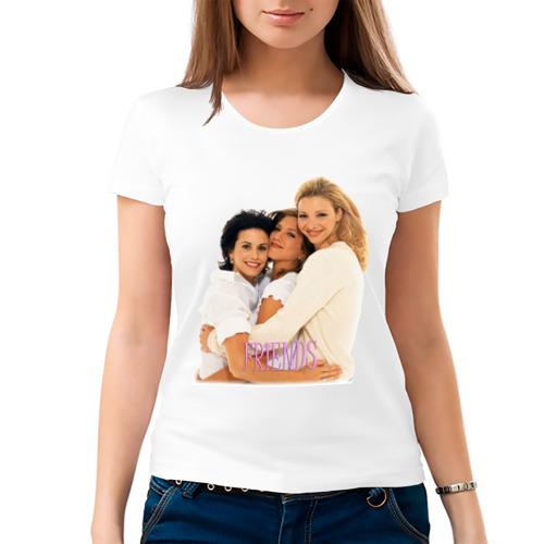 Женская футболка хлопок  Фото 03, Друзья (2)