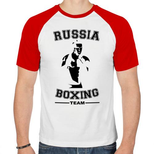 Мужская футболка реглан  Фото 01, Бокс