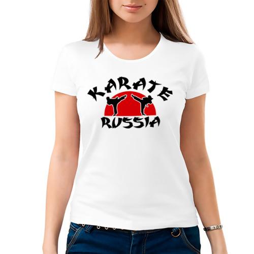 Женская футболка хлопок  Фото 03, Карате
