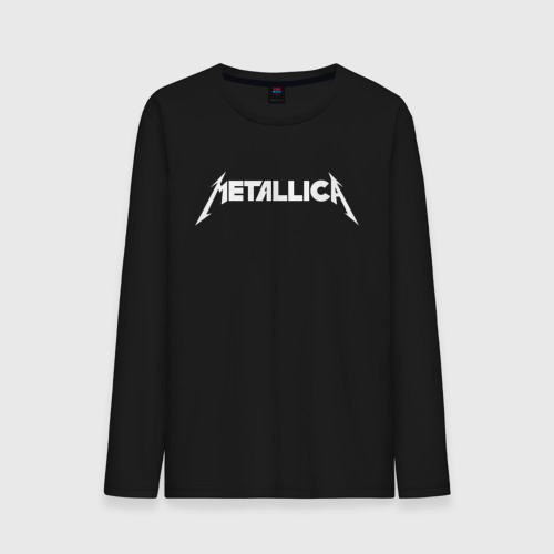 Мужской лонгслив хлопок Metallica