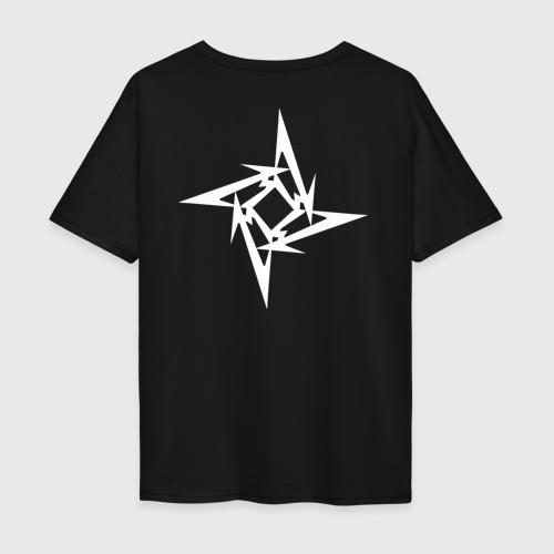 Мужская футболка хлопок Oversize Metallica Фото 01