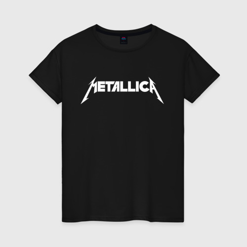 Женская футболка хлопок Metallica