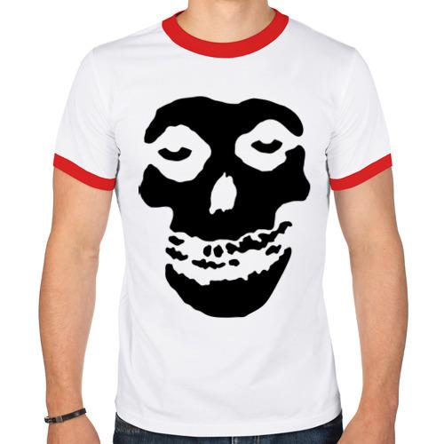 """Мужская футболка-рингер """"Misfits"""" (2) - 1"""