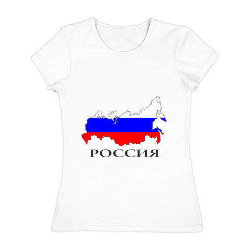 Женская футболка хлопок  Фото 01, россия