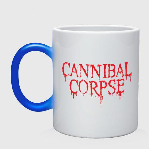 Кружка хамелеон  Фото 01, Cannibal Corpse