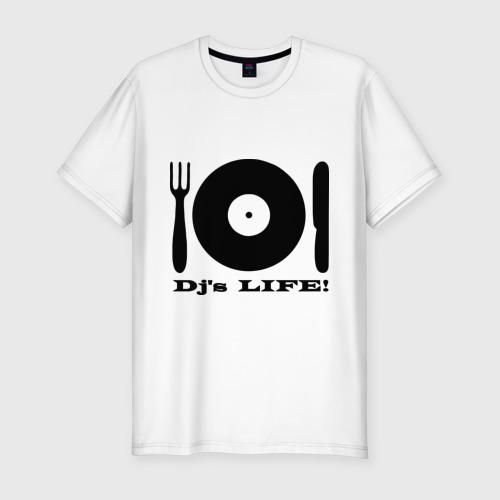 Мужская футболка премиум  Фото 01, DJ's
