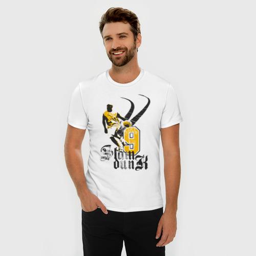 Мужская футболка премиум  Фото 03, basketball4