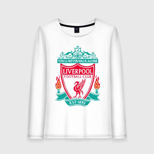 Женский лонгслив хлопок Liverpool