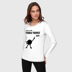 My table tennis shirt
