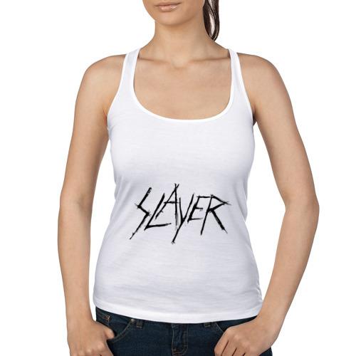 Женская майка борцовка  Фото 01, Slayer (2)