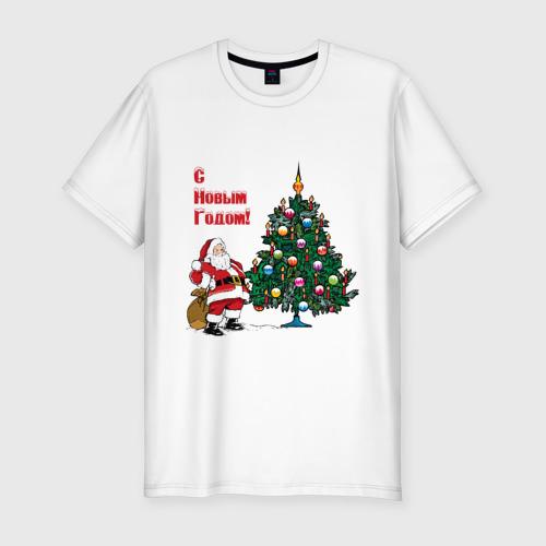 Мужская футболка премиум  Фото 01, Ded Moroz