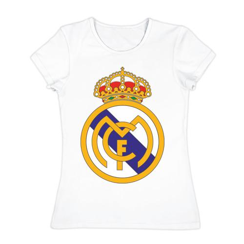 Женская футболка хлопок real_madrid