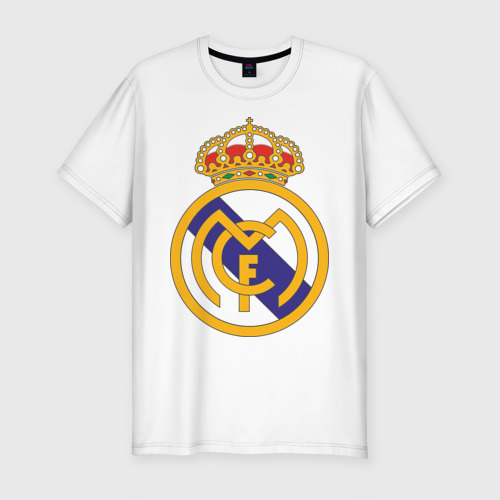 Мужская футболка премиум real_madrid