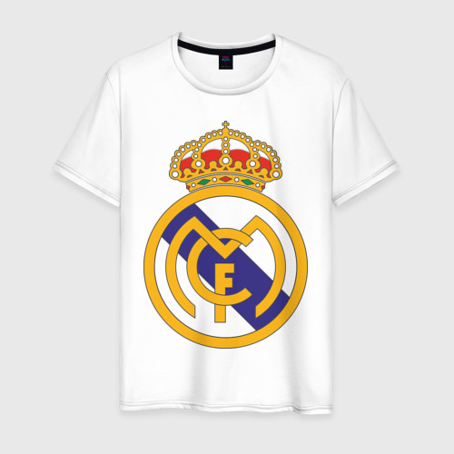 Мужская футболка хлопок real_madrid