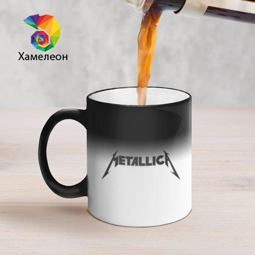 Кружка хамелеон  Фото 05, Metallica