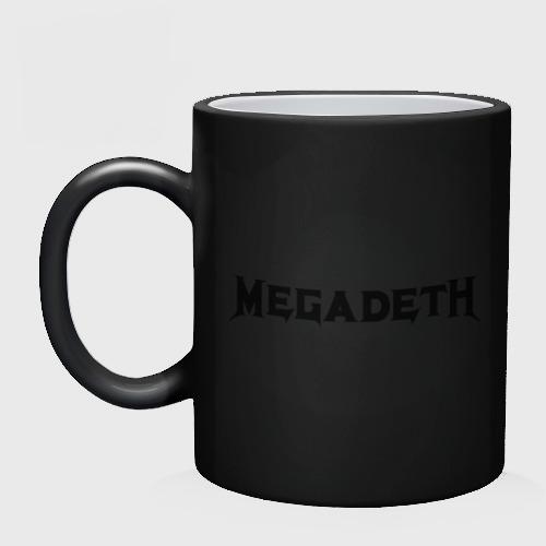 Кружка хамелеон  Фото 02, Megadeth