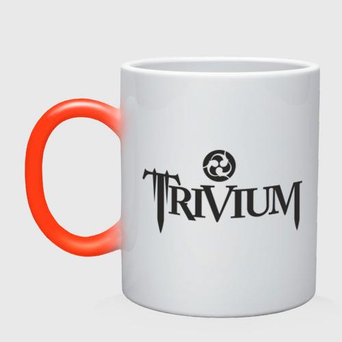Кружка хамелеон  Фото 01, Trivium