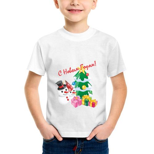 Детская футболка синтетическая Новый Год (4) от Всемайки