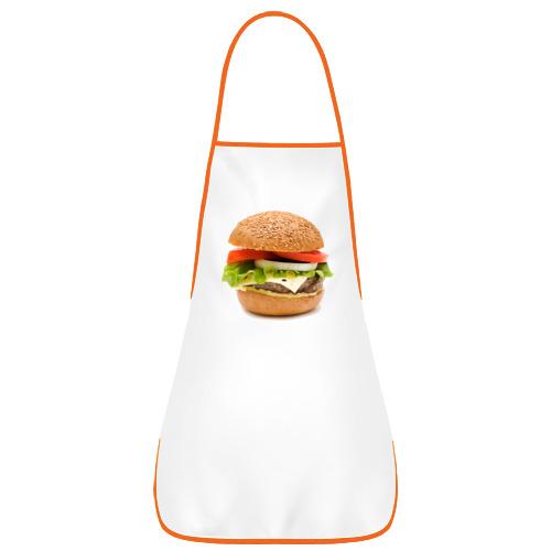 Фартук с кантом Гамбургер